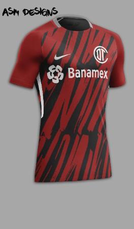 Deportivo Toluca F.C. Nike 2018 Alternate Kit
