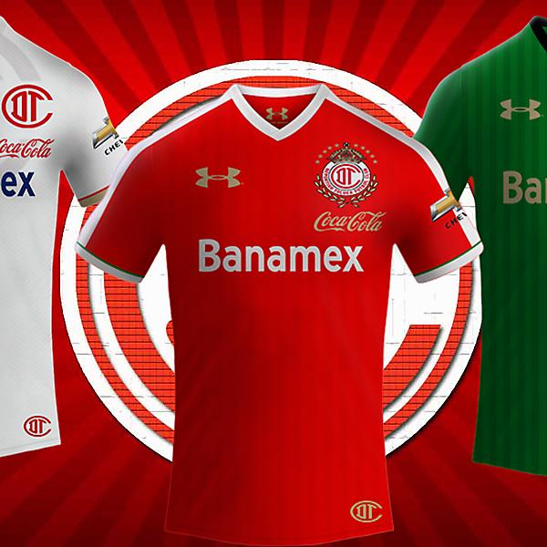Deportivo Toluca Under Armour Kits