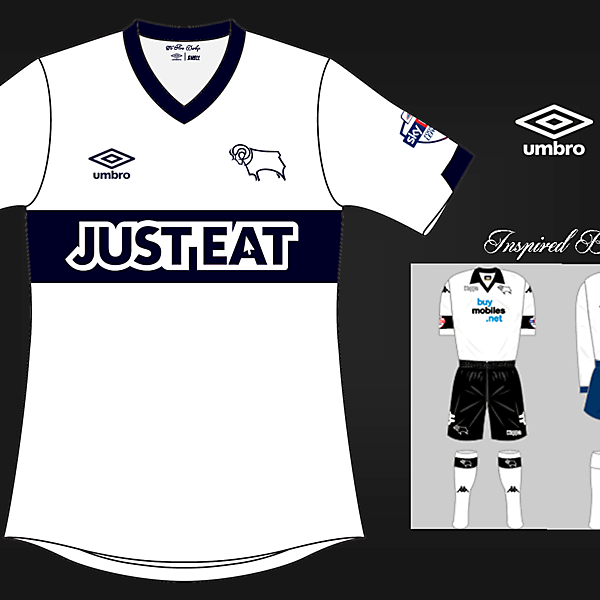 Derby County home 14/15 by umbro