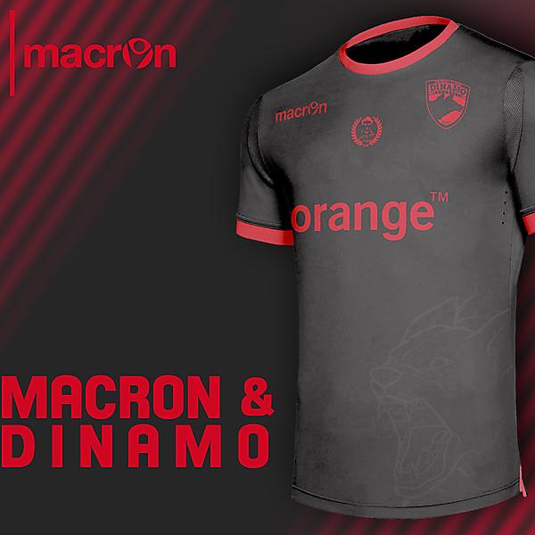 Dinamo Bucharest x Macron - Away shirt