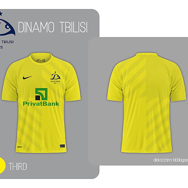 Dinamo Tbilisi Third