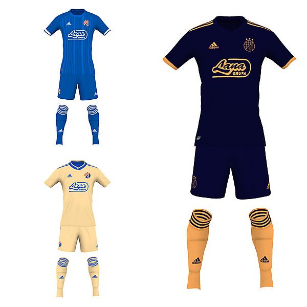 Dinamo Zagreb 19/20 fantasy kits