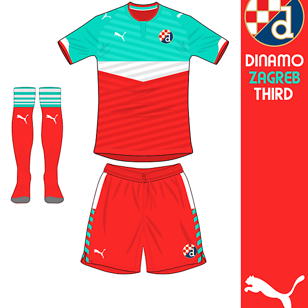 Dinamo Zagreb Third