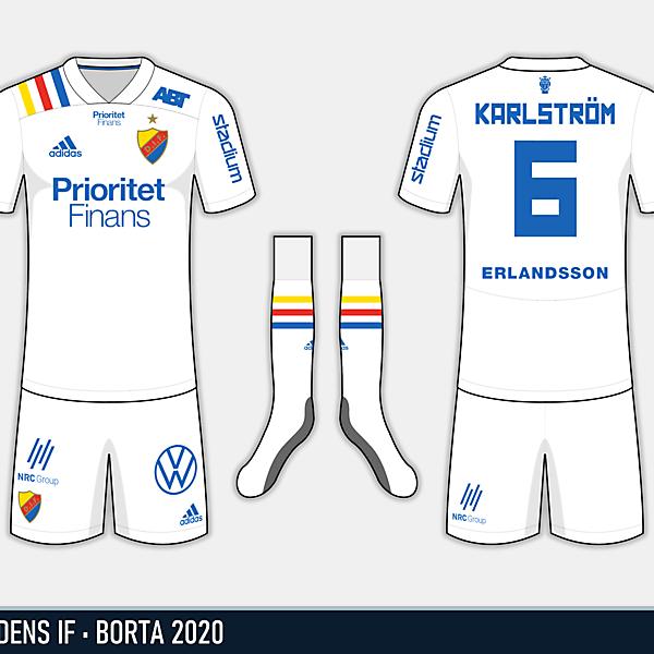 Djurgårdens IF - Borta 2020