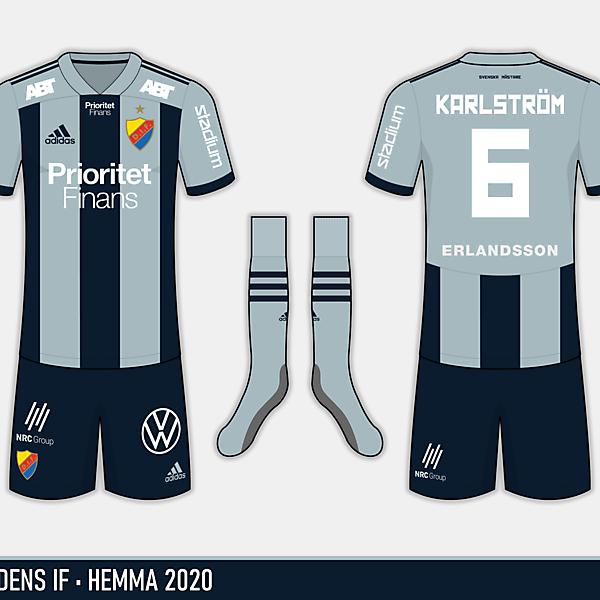 Djurgårdens IF - Hemma 2020