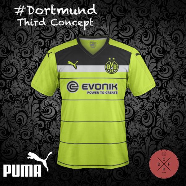 Dortmund Third Puma Concept