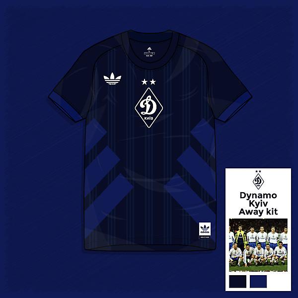 Dynamo Kyiv - Away Kit