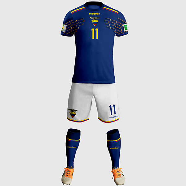 Ecuador Away