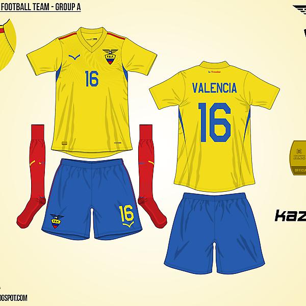 Ecuador Home - Group A, 2015 Copa América