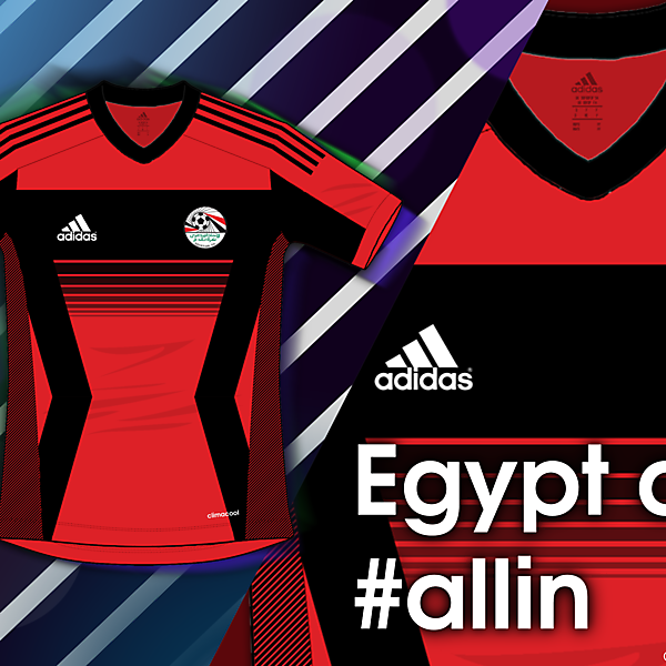 Egypt are #allin