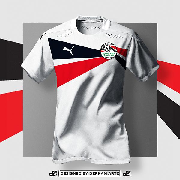 Egypt x Puma - Away Kit