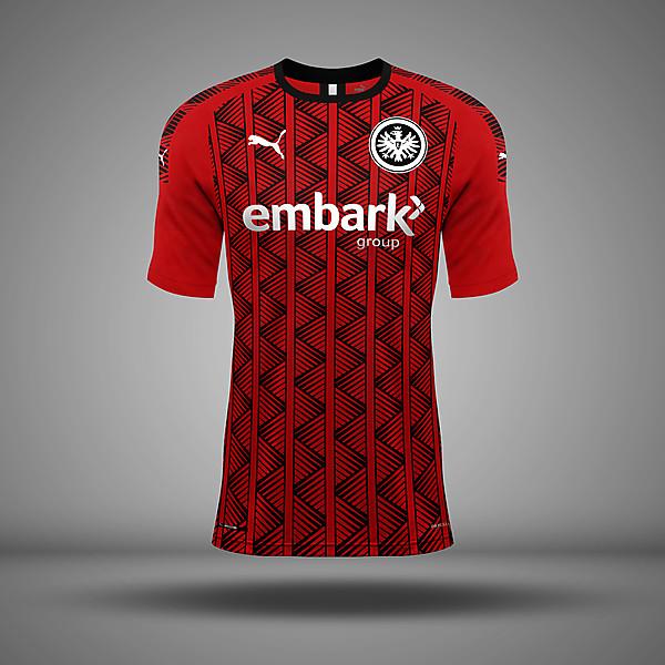 Eintracht Frankfurt - Home Kit
