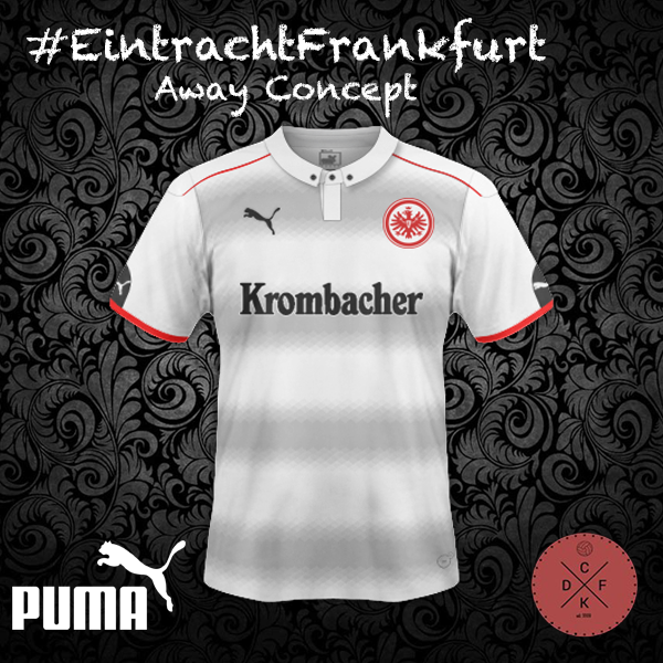Eintracht Frankfurt Away Puma Concept