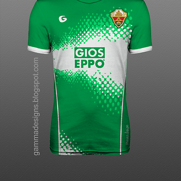 elche home and away