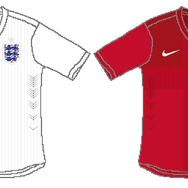 England 2014 World Cup Kits