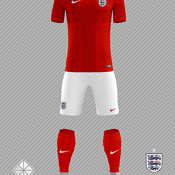 England 2018 FIFA World Cup Away Kit