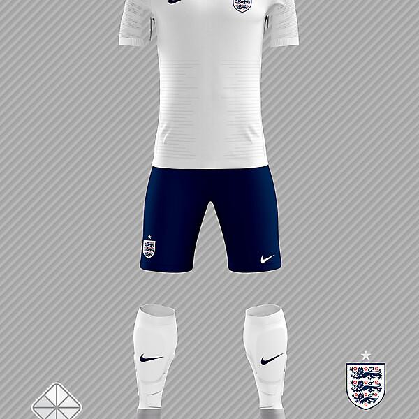 England 2018 FIFA World Cup Home Kit