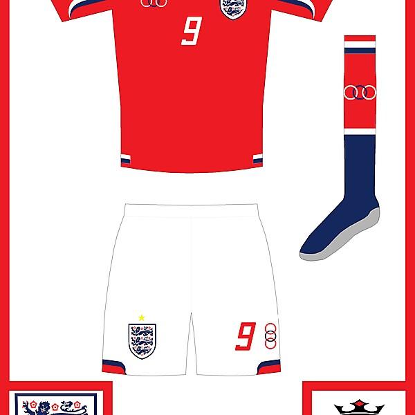 England 2nd kit