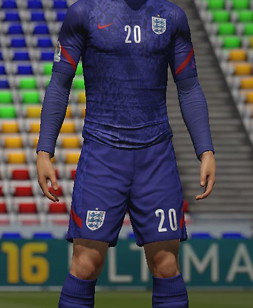 England Away kit EURO 2020