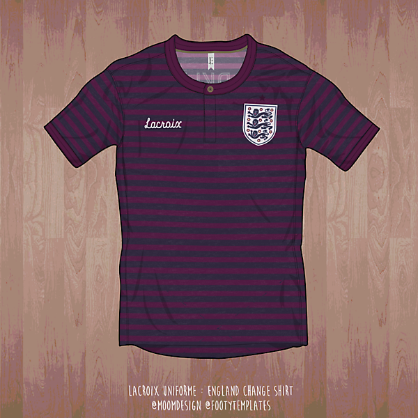 England Change Shirt by LaCroix