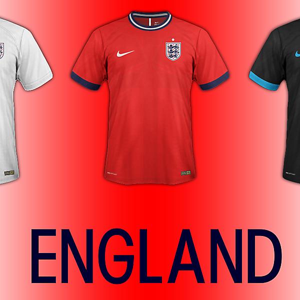 England Fantasy Kit