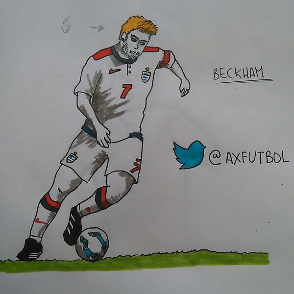 England Football Team Home Kit (Beckham model)