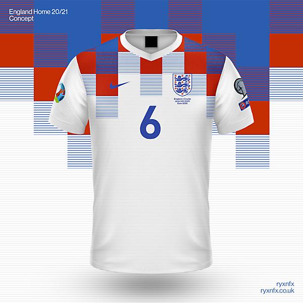 England Home Kit 20/21