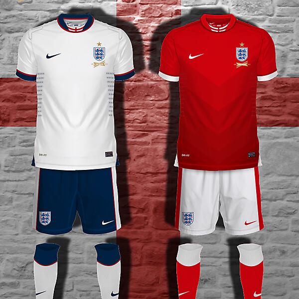 England Nike Kit