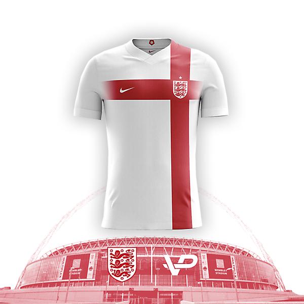 England National Team Kit Design
