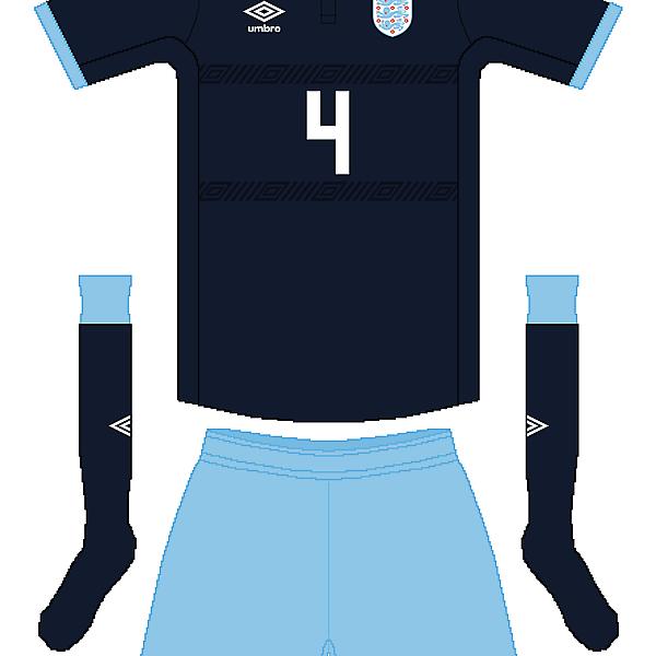 England Umbro Third Kit