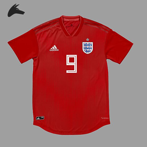 England x Adidas away