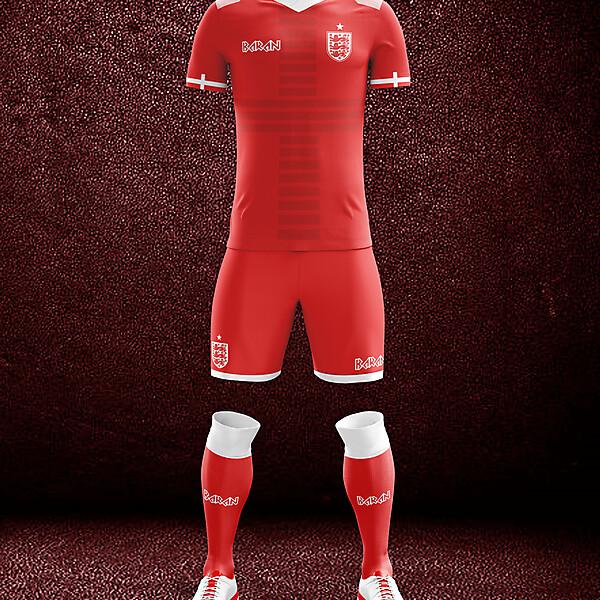 England x Away Kit Design