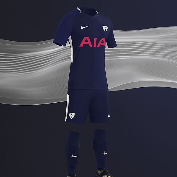 EPL NIKE KITS REDESIGN :Nike Tottenham Hotspur Away 2017/18