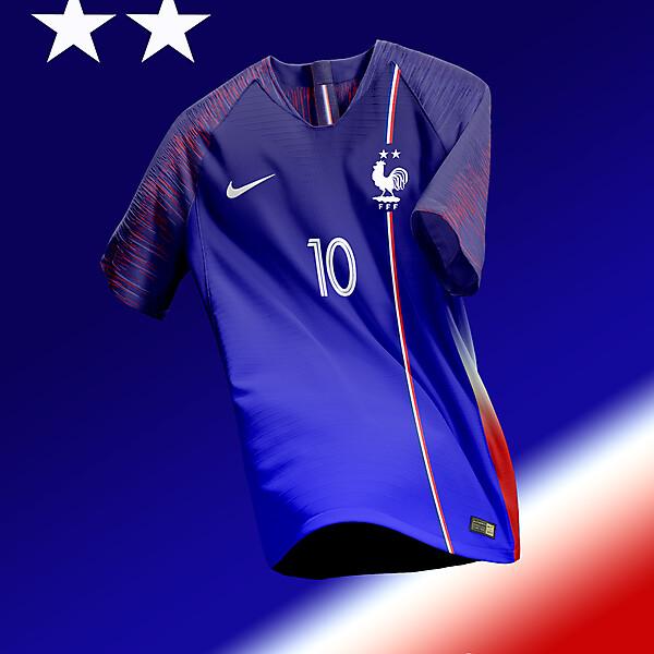 Equipe de France Home Kit Concept