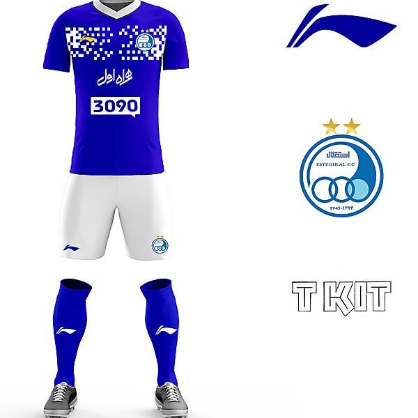 Esteghlal FC home kit