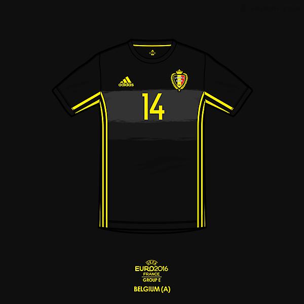 Euro 2016 - adidas Belgium Away