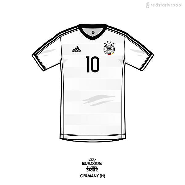 Euro 2016 - adidas Germany home