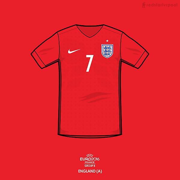 Euro 2016 - Nike England Away