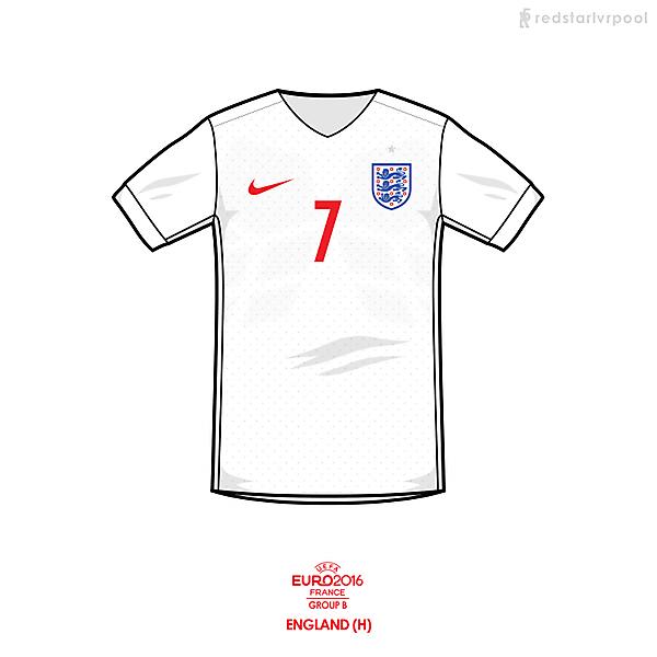 Euro 2016 - Nike England Home