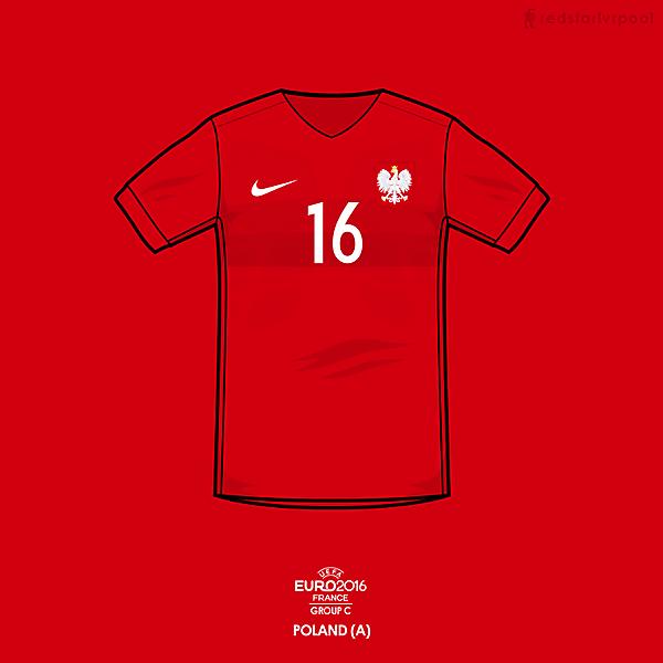 Euro 2016 - Nike Poland away