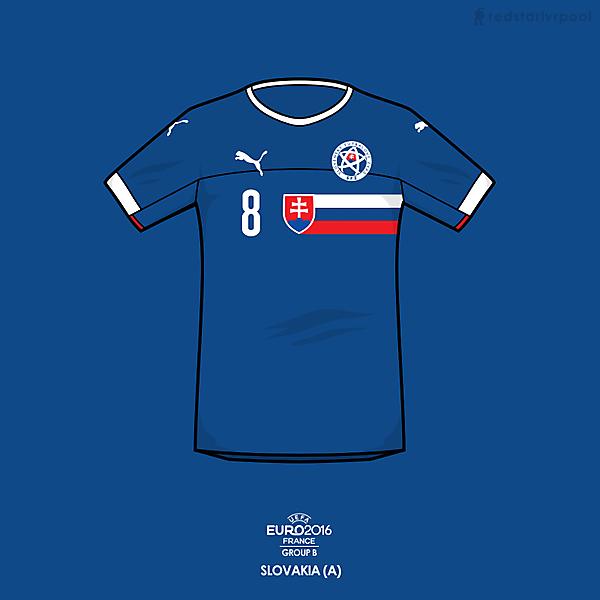 Euro 2016 - Puma Slovakia Away