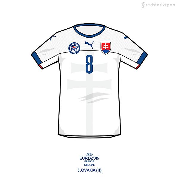 Euro 2016 - Puma Slovakia Home