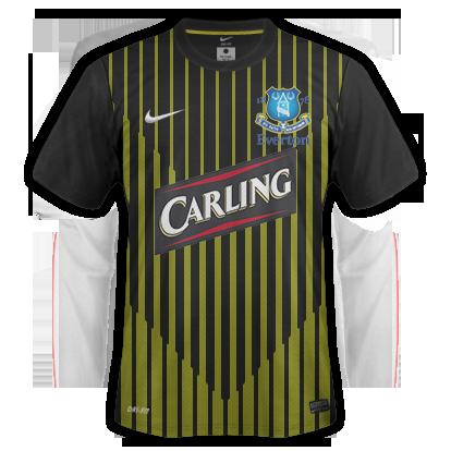 Everton 2015-16 Away Kit