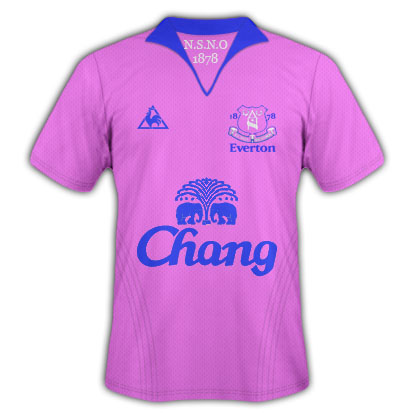 Everton Le Coq Sportif Alternate Shirt 1