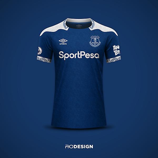 Everton   Umbro   Home