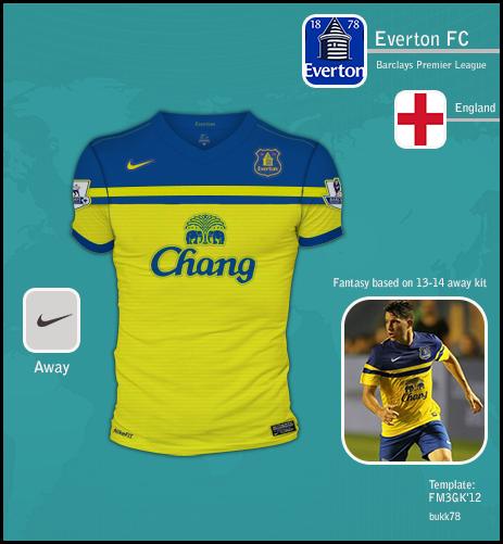 Everton FC away