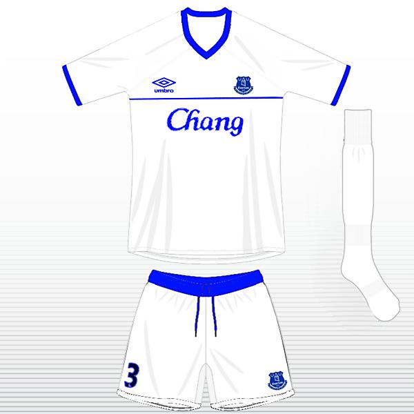 Everton FC Away Kit
