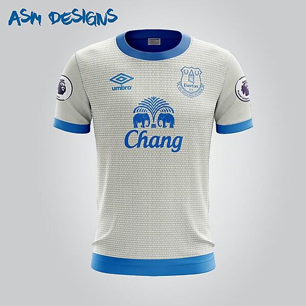 Everton F.C. Umbro 2018 Away Kit