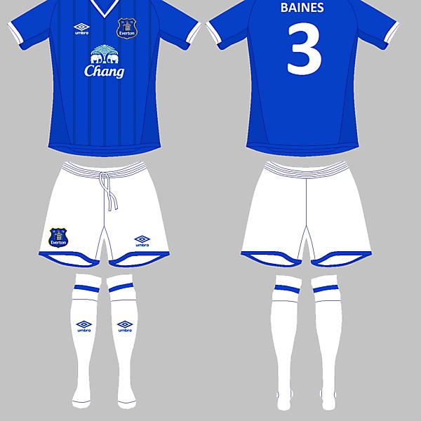 Everton Home / Umbro