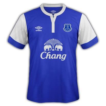 Everton Home Fantasy Kit 2014/2015